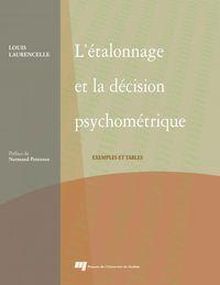 Étalonnage et la décision psychométrique