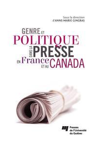 Genre et politique dans la presse en France et au Canada