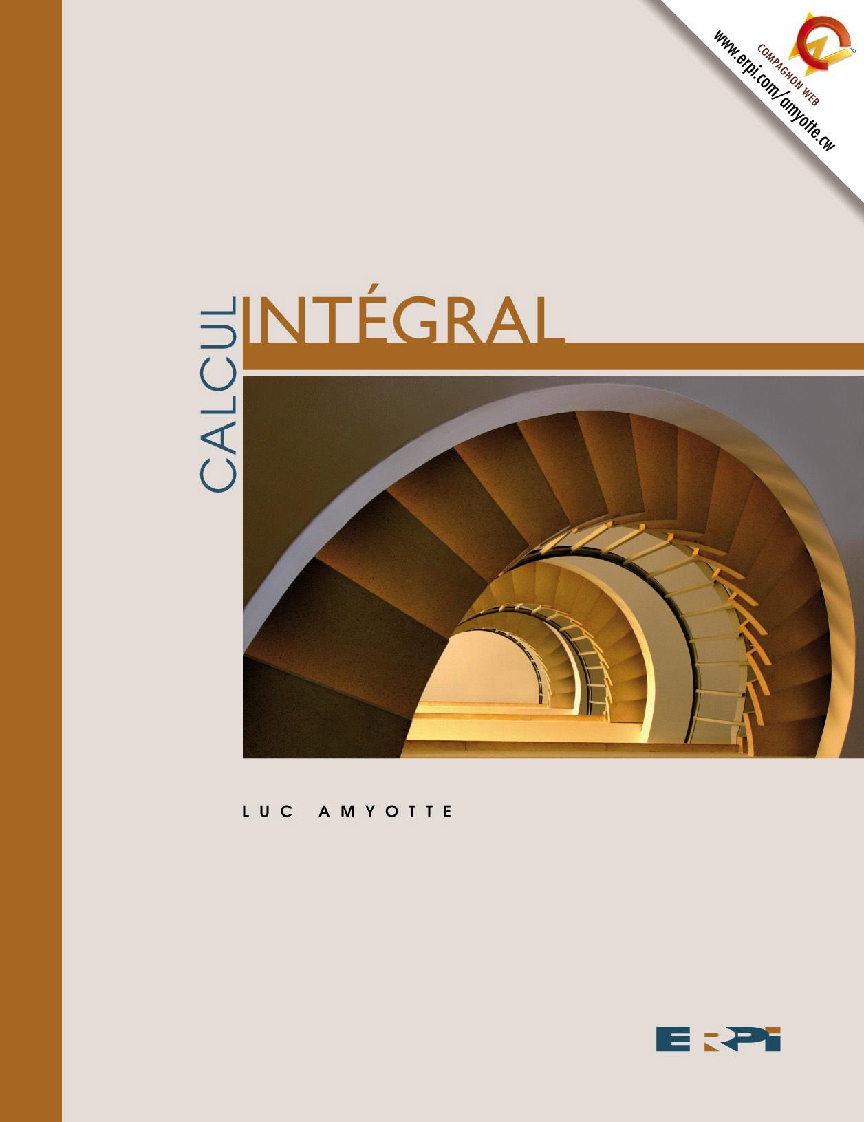 CALCUL INTEGRAL/AMYOTTE