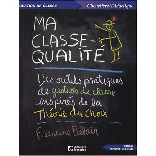 MA CLASSE QUALITE