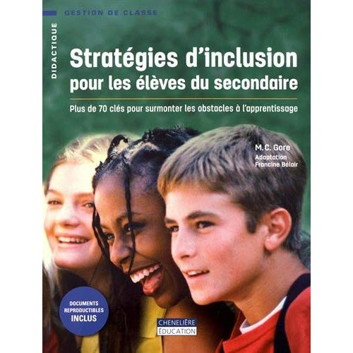 STRATEGIES D'INCLUSION POUR LES ELEVES DU SECONDAIRE