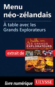Menu néo-zélandais - A table avec les Grands Explorateurs