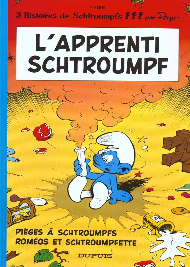 SCHTROUMPFS (DUPUIS) - T7 - L'APPRENTI SCHTROUMPF