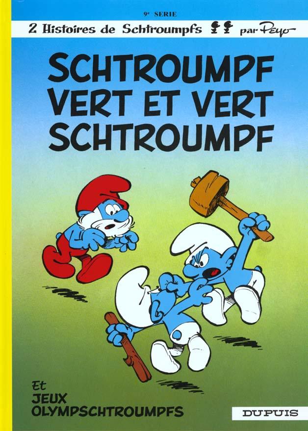SCHTROUMPFS (DUPUIS) - T9 - SCHTROUMPF VERT ET VERT SCHTROUMPF