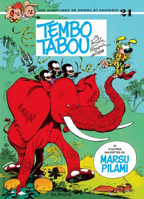 SPIROU ET FANTASIO - T24 - TEMBO TABOU