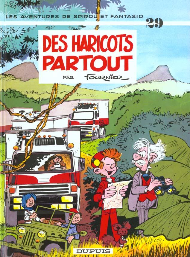 SPIROU ET FANTASIO - T29 - DES HARICOTS PARTOUT