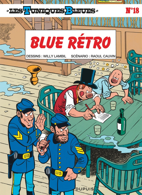 BLUE RETRO - LES TUNIQUES BLEUES - T18