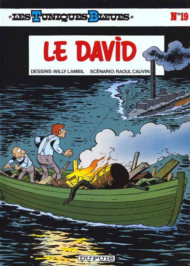 LE DAVID - LES TUNIQUES BLEUES - T19