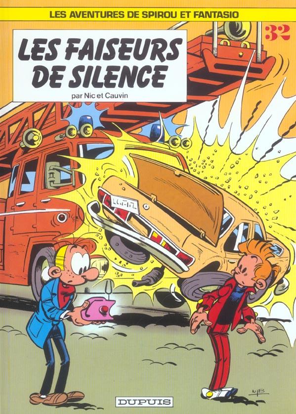 SPIROU ET FANTASIO - T32 - LES FAISEURS DE SILENCE