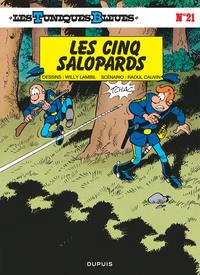 LES 5 SALOPARDS - LES TUNIQUES BLEUES - T21