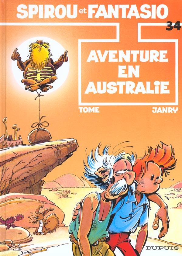 SPIROU ET FANTASIO - T34 - AVENTURE EN AUSTRALIE