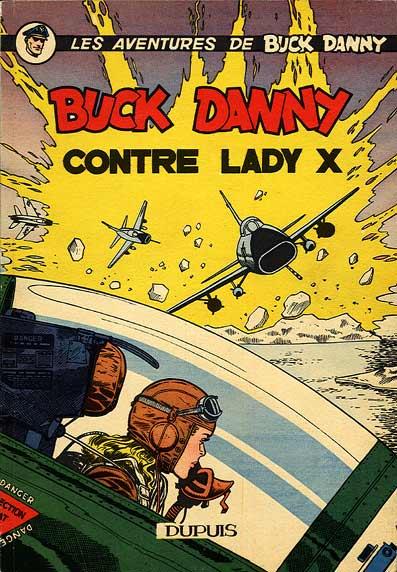 BUCK DANNY CONTRE LADY X