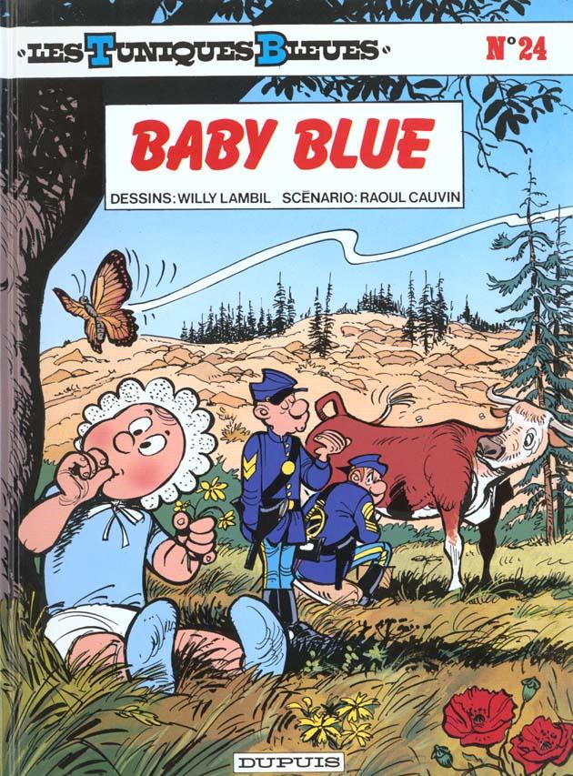 BABY BLUE - LES TUNIQUES BLEUES - T24