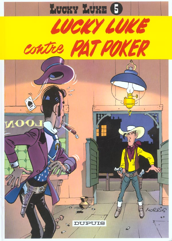 LUCKY LUKE CONTRE PAT POKER - LUCKY LUKE (DUPUIS) - T5