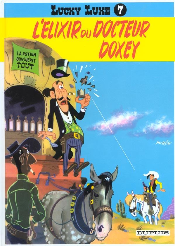 LUCKY LUKE (DUPUIS) T7 L'ELIXIR DU DOCTEUR DOXEY