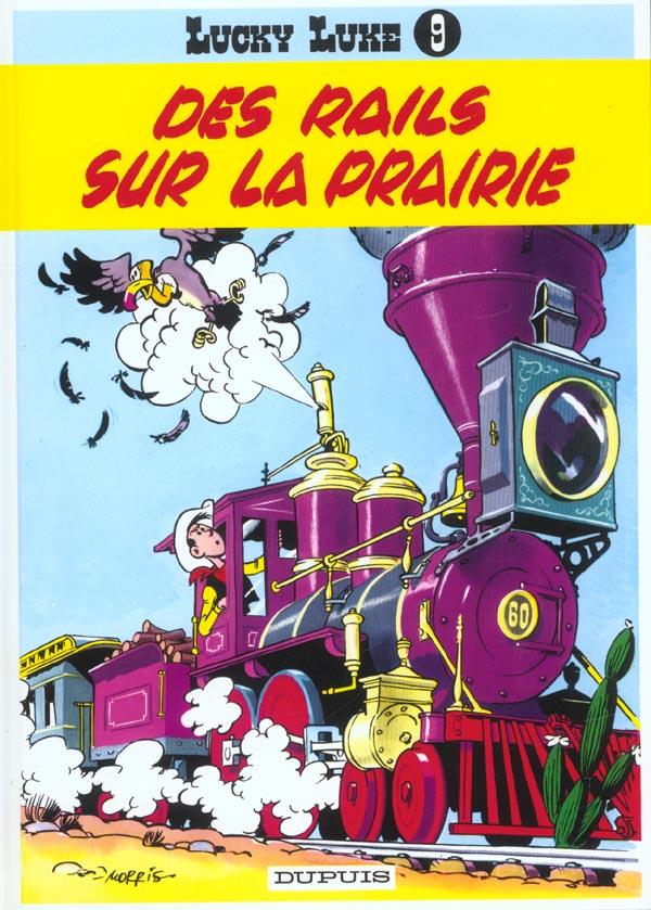 LUCKY LUKE (DUPUIS) T9 DES RAILS SUR LA PRAIRIE