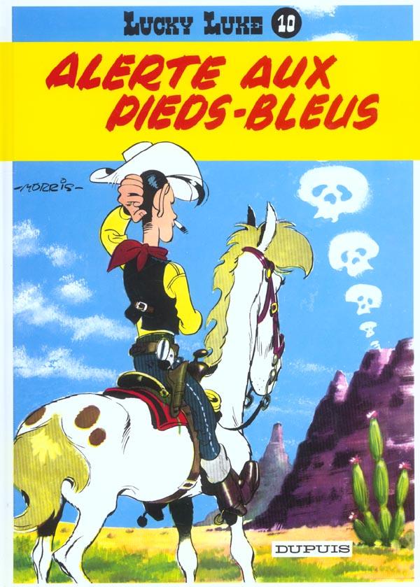 ALERTE AUX PIEDS BLEUS - LUCKY LUKE (DUPUIS) - T10
