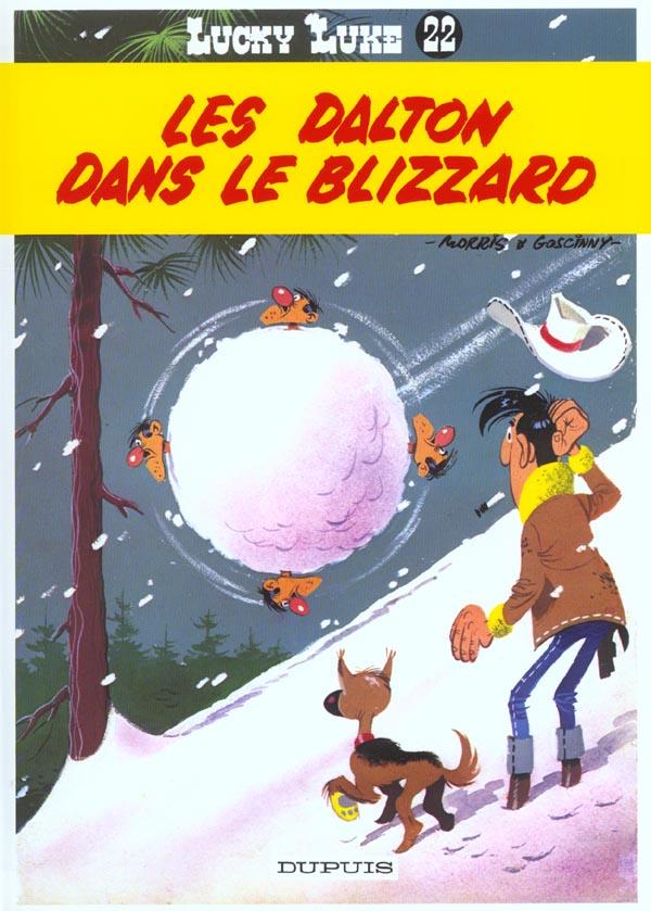 DALTON DANS LE BLIZZARD (LES) - LUCKY LUKE (DUPUIS) - T22