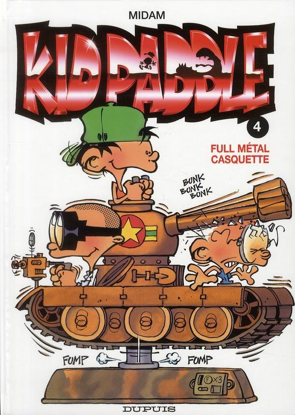 KID PADDLE T4 FULL METAL CASQUETTE