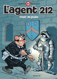 AGENT 212 - T20 - CHAIR DE POULE