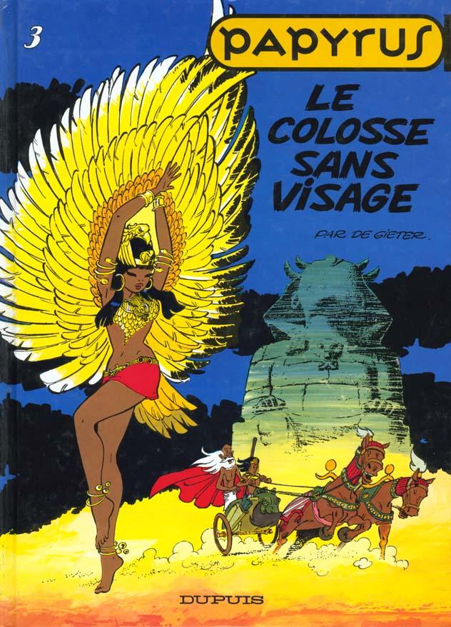 PAPYRUS T3 LE COLOSSE SANS VISAGE