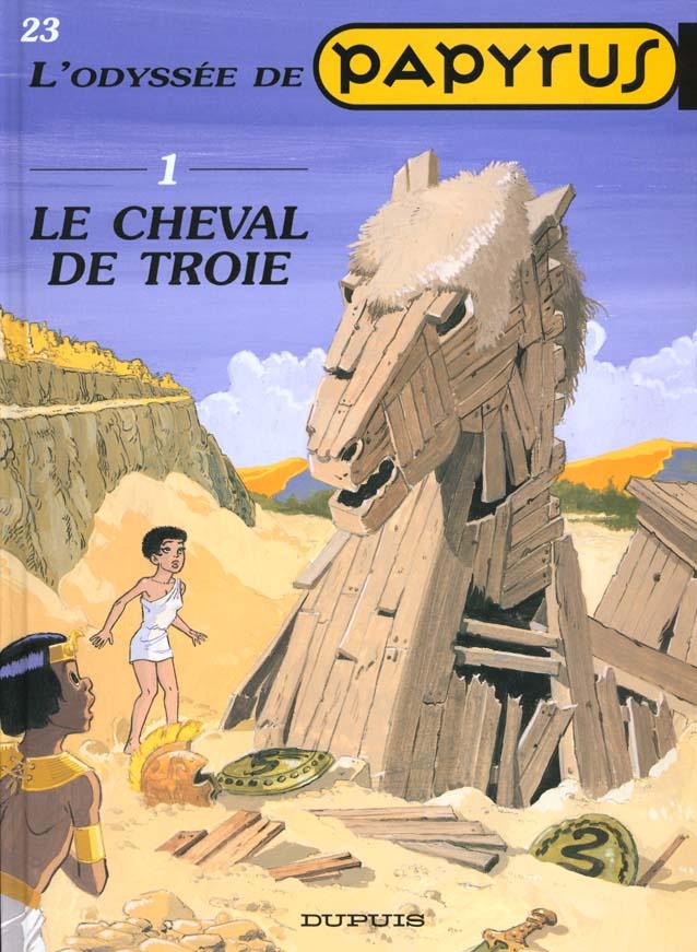 PAPYRUS T23 LE CHEVAL DE TROIE(ODYSSEE 1)