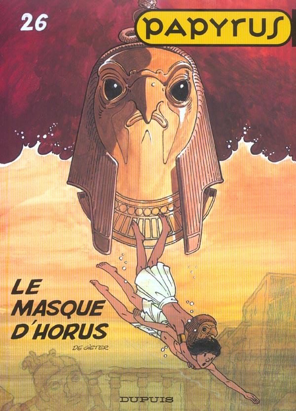 PAPYRUS T26 LE MASQUE D'HORUS