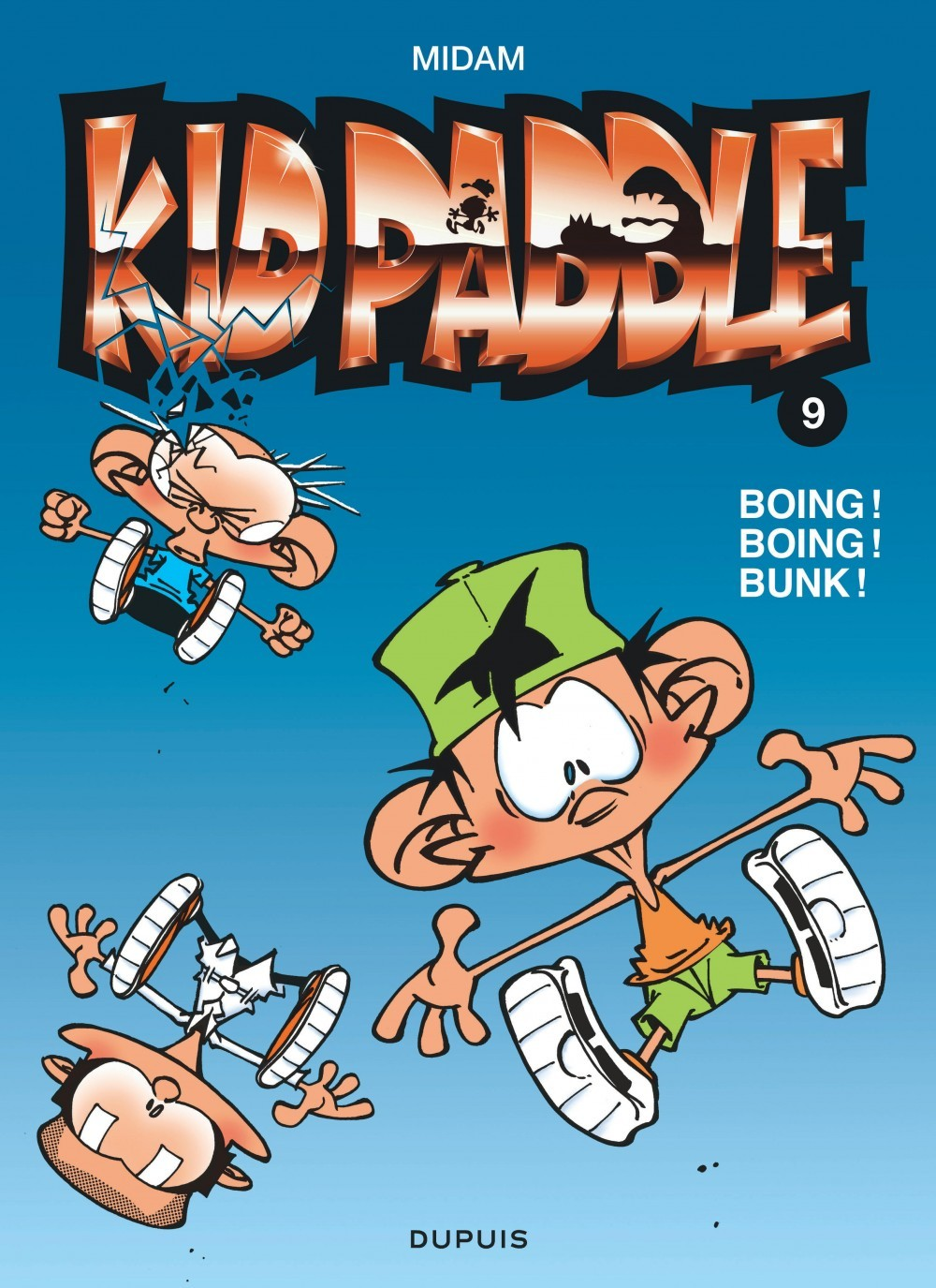KID PADDLE - T9 - BOING ! BOING !  BUNK !