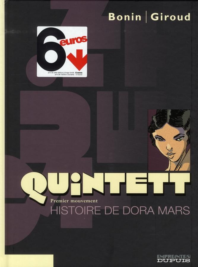 HISTOIRE DE DORA MARS (L') (OPERATION 6 EUROS) - QUINTETT