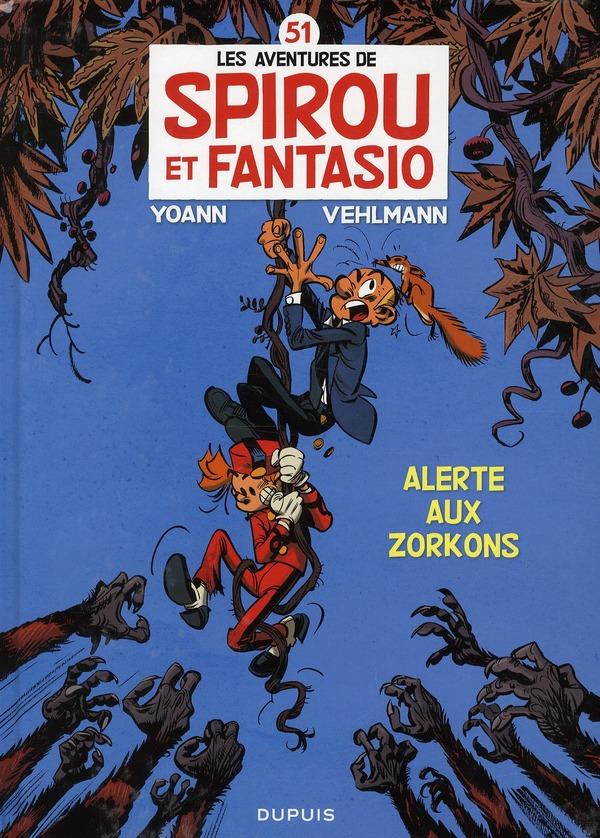 ALERTE AUX ZORKONS 51 - SPIROU ET FANTASIO - T51