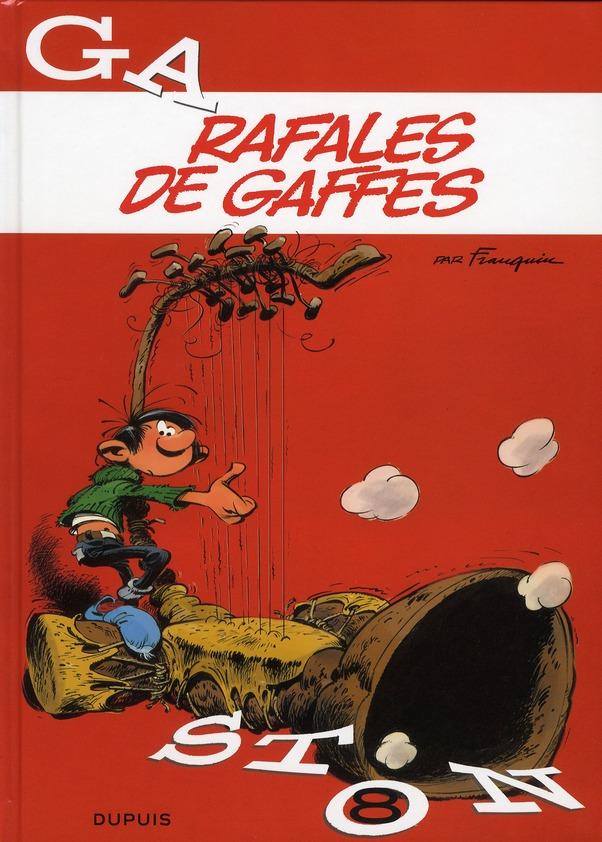 RAFALES DE GAFFES - GASTON - T8