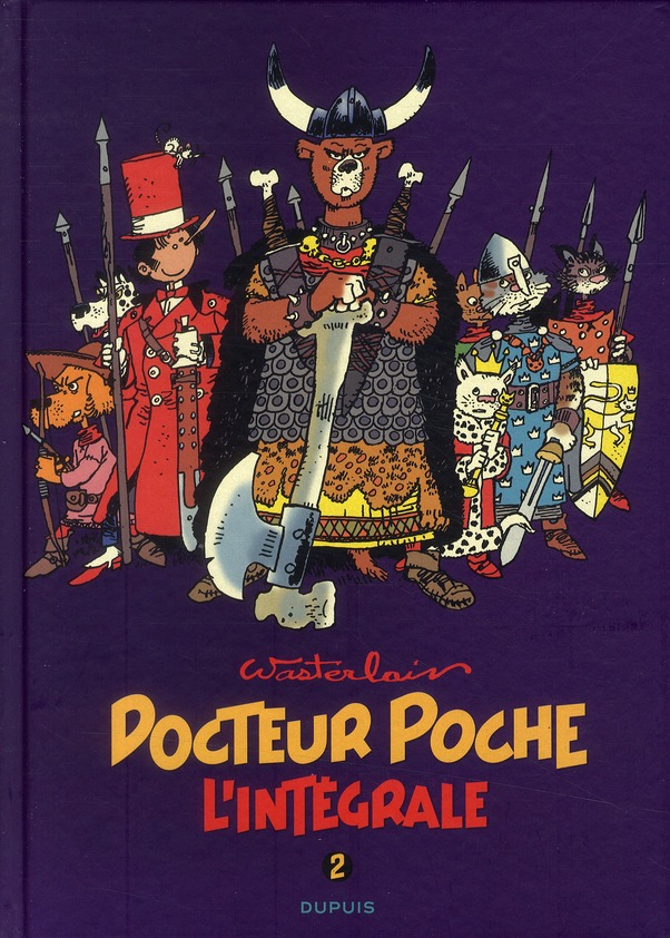 DOCTEUR POCHE (INTEGRALE) - T2 - DOCTEUR POCHE - L'INTEGRALE 2