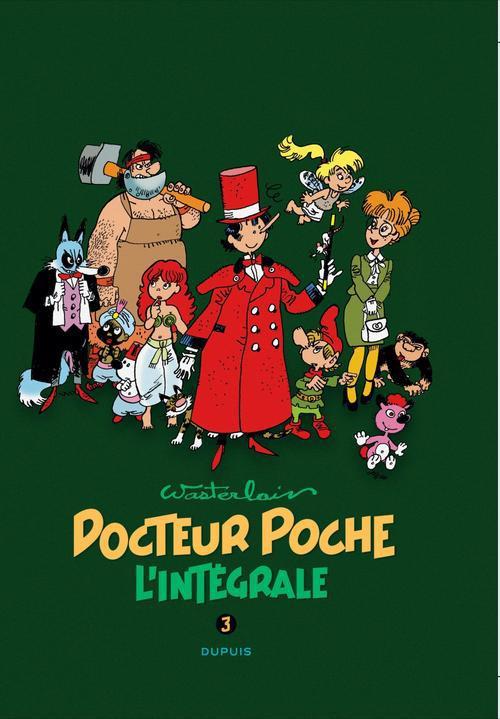DOCTEUR POCHE (INTEGRALE) T3 DOCTEUR POCHE - L'INTEGRALE T3 : DOCTEUR POCHE 1984-1989
