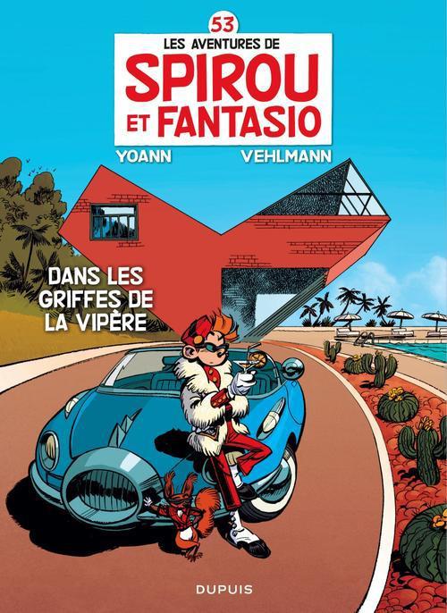 DANS LES GRIFFES DE LA VIPERE (ED SILVER) - SPIROU ET FANTASIO - T53