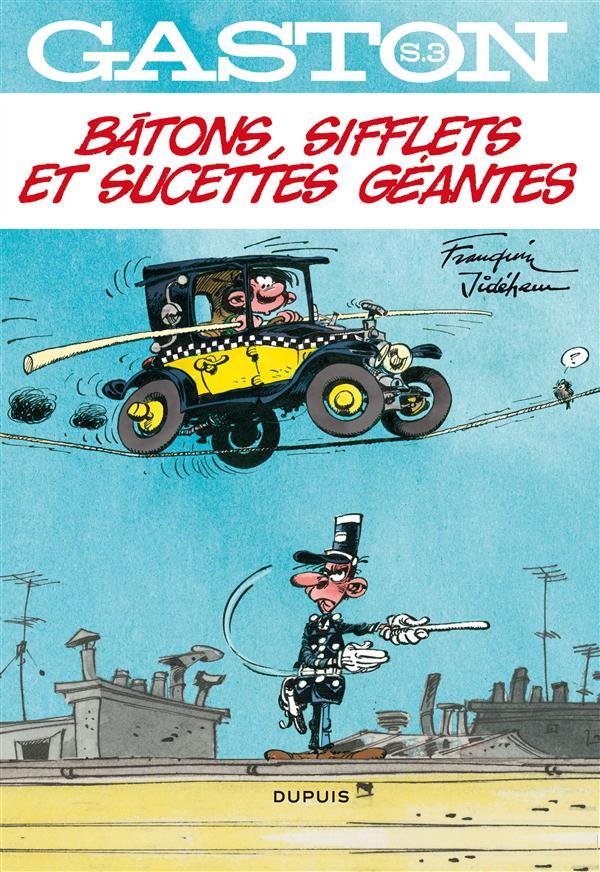 BATONS, SIFFLETS ET SUCETTES GEANTES - GASTON HORS SERIE - T3