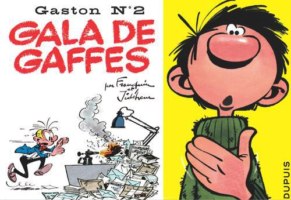 "GASTON ""A L'ITALIENNE"" - T2 - GALA DE GAFFES"