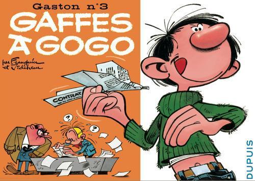 """GASTON """"A L'ITALIENNE"""" T3 GAFFES A GOGO"""