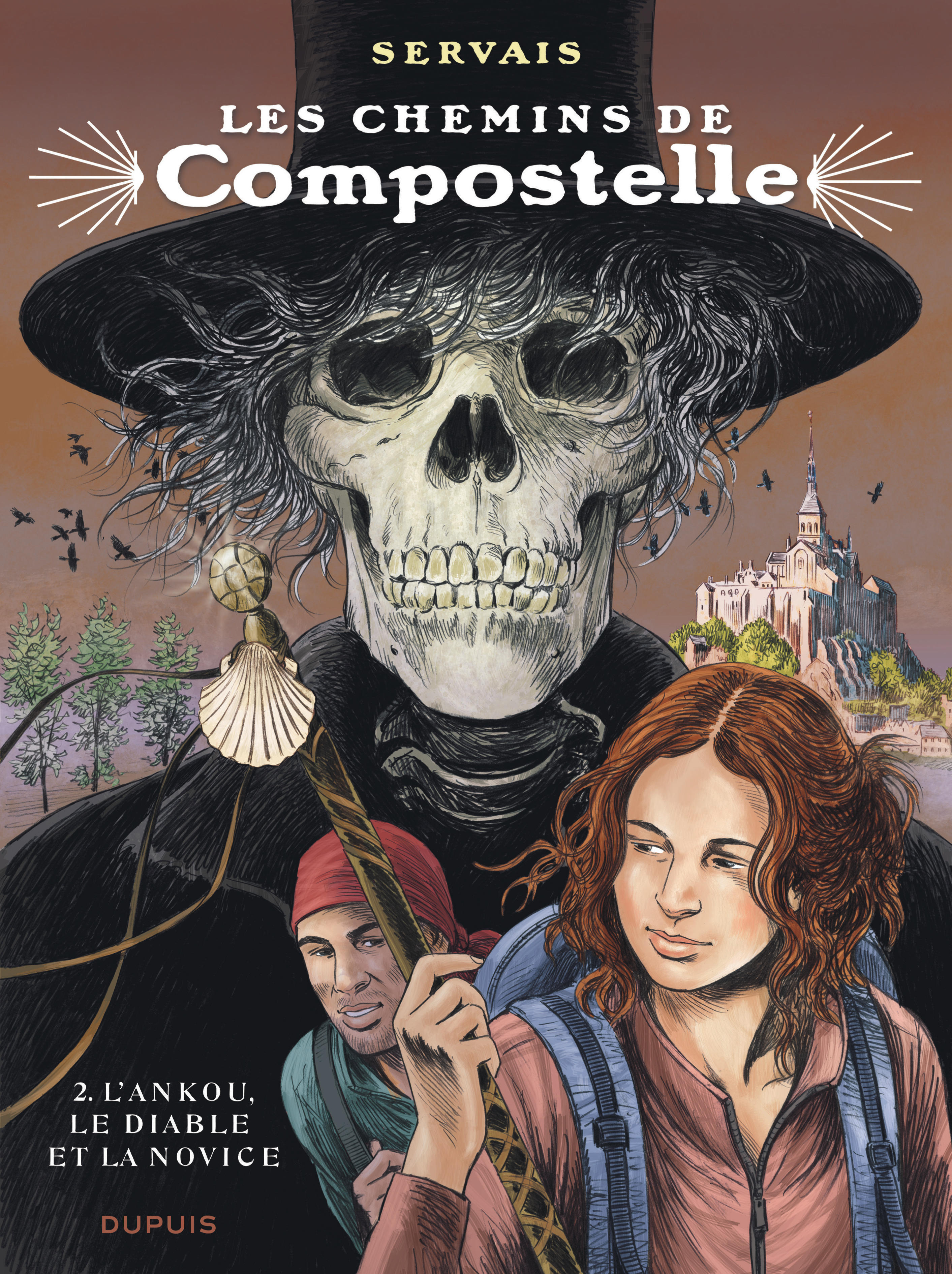 COMPOSTELLE - T2 - L'ANKOU, LE DIABLE ET LA NOVICE EDITION NORMALE