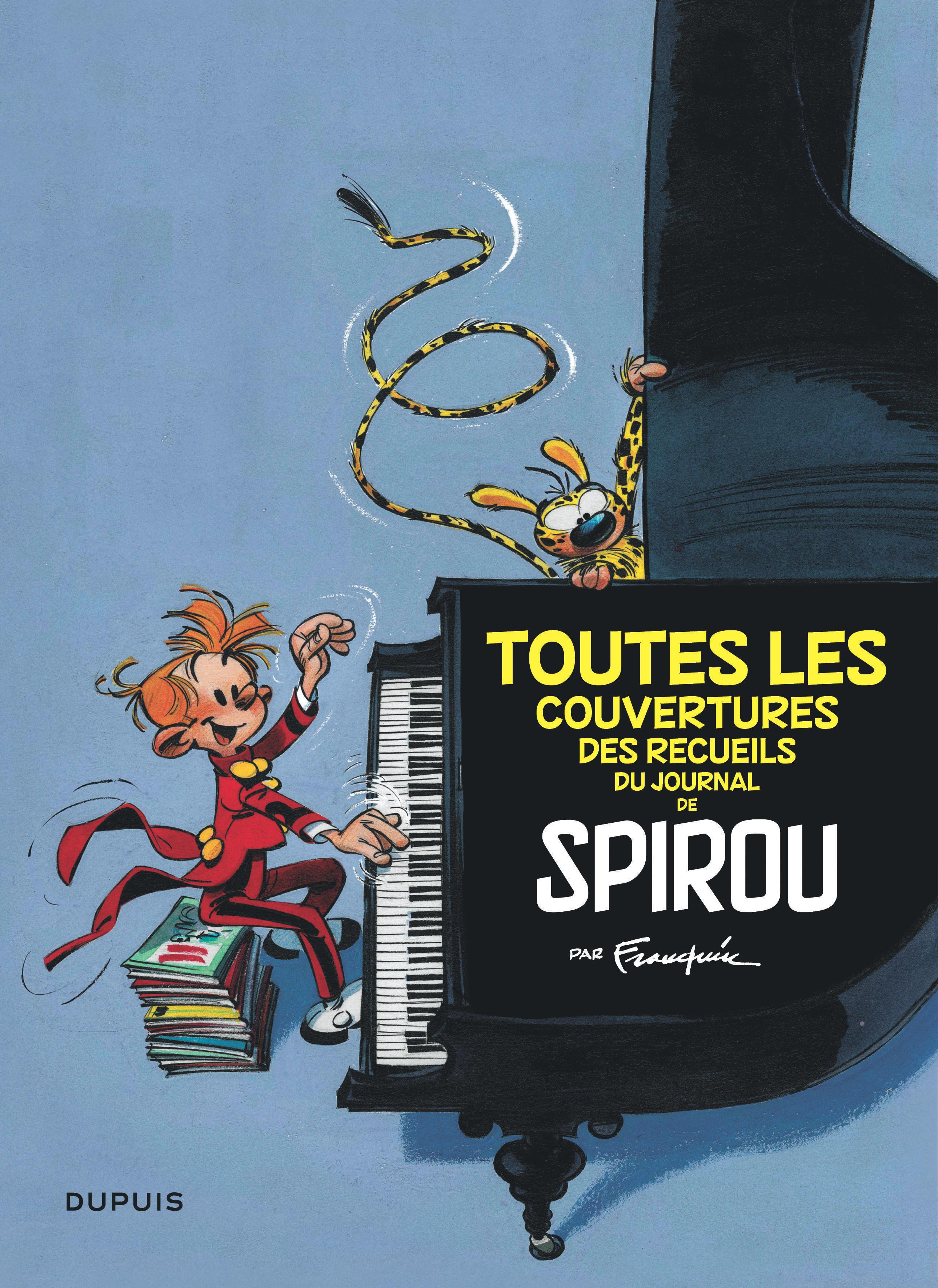 FRANQUIN PATRIMOINE T3 FRANQUIN PATRIMOINE - TOME 3 - COUVERTURES DES RECUEILS DU JOURNAL DE SPIROU
