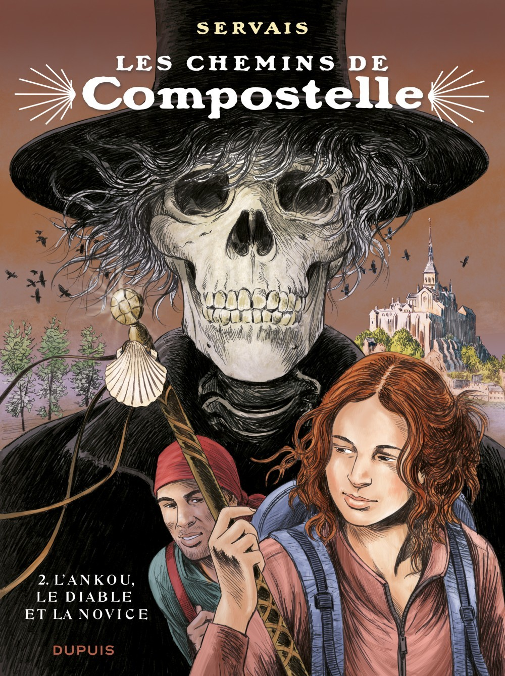 COMPOSTELLE - T2 - L'ANKOU, LE DIABLE ET LA NOVICE EDITION SPECIALE