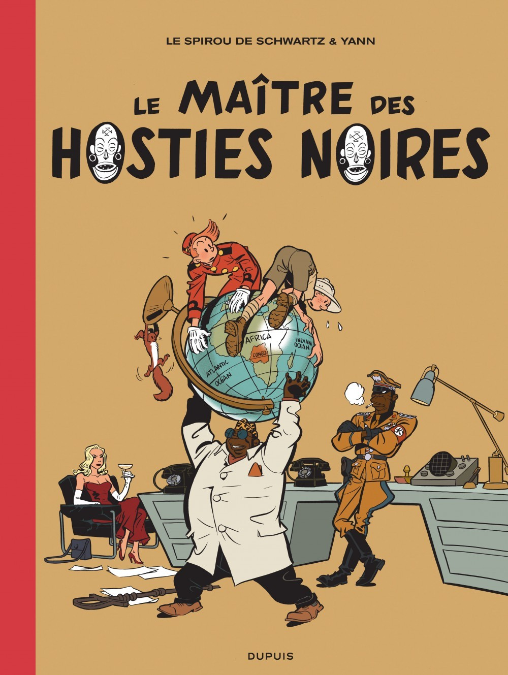 LE SPIROU DE ... T11 LA FEMME LEOPARD 2/2 (LUXE)-LE MAITRE DES HOSTIES NOIRES
