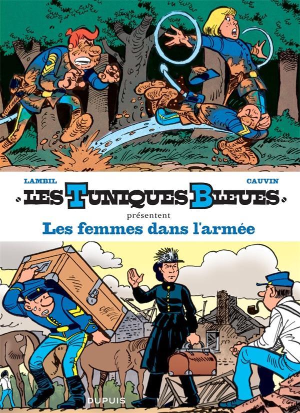 LES TUNIQUES BLEUES PRESENTENT T9 LES FEMMES DANS L'ARMEE