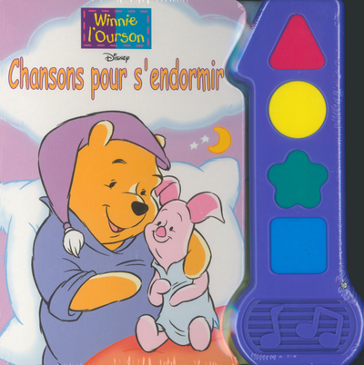 CHANSONS POUR S'ENDORMIR WINNIE L'OURSON T1