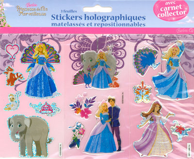 STICKERS HOLOGRAPH BARBIE PRIN