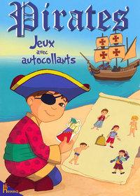 PIRATES JEUX AVEC AUTOCOLLANTS