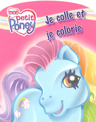 JE COLLE COLORIE PETIT PONEY 2