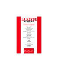 REVUE GENERALE 2001/3 L'HOMME ET SON JARDIN : RAISON ET SORT.