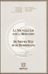 NOUVELLE LOI SUR LA MEDIATION (LA)