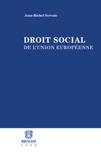 DROIT SOCIAL DE L'UNION EUROPEENNE