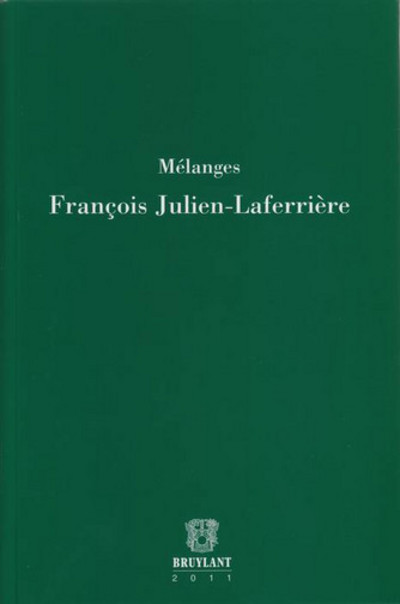 MELANGES FRANCOIS JULIEN-LAFERRIERE